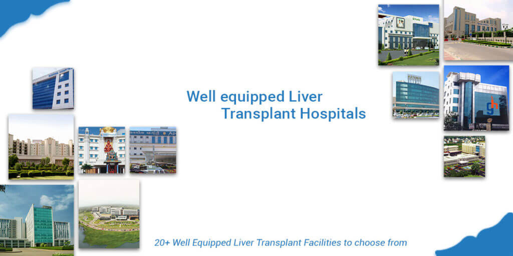 Well equipped Liver Transplant Hospitals