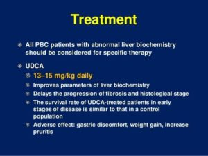 Primary Biliary Cholangitis Treatment